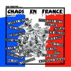 """V/A """"Chaos en France"""" CD"""