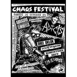 """""""Chaos festival 3"""" Affiche"""