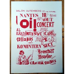 """Nantes Oi ! "" Affiche"