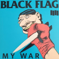 "Black Flag ‎""My War"" LP"