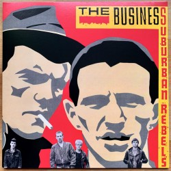 "Business ‎""Suburban Rebels"" LP"